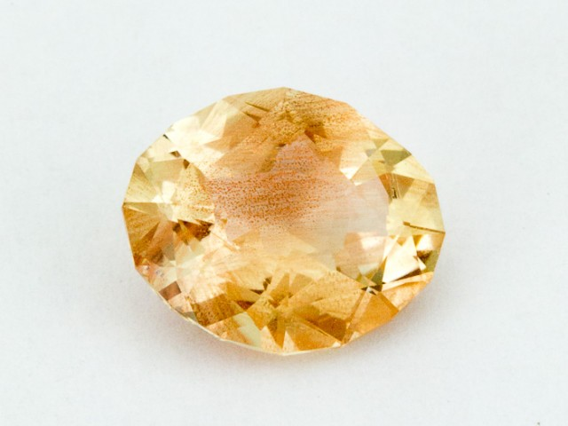 2.5ct Oregon Sunstone, Clear/Pink Oval ( S695)