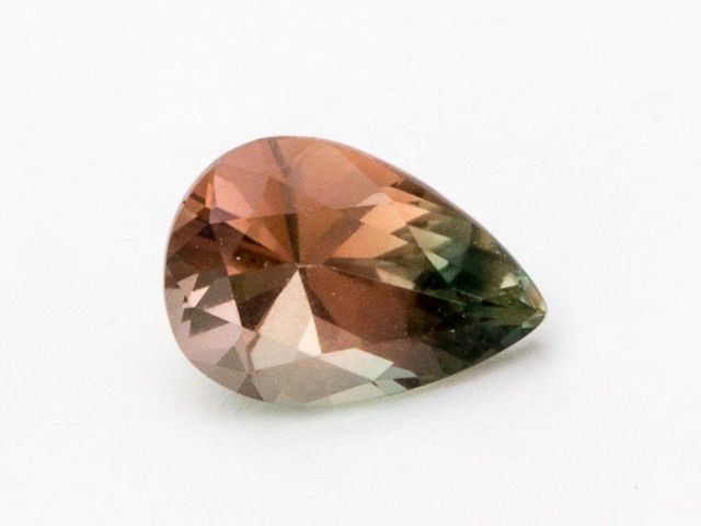 1.3ct Oregon Sunstone, Rootbeer/Green Pear (S698)