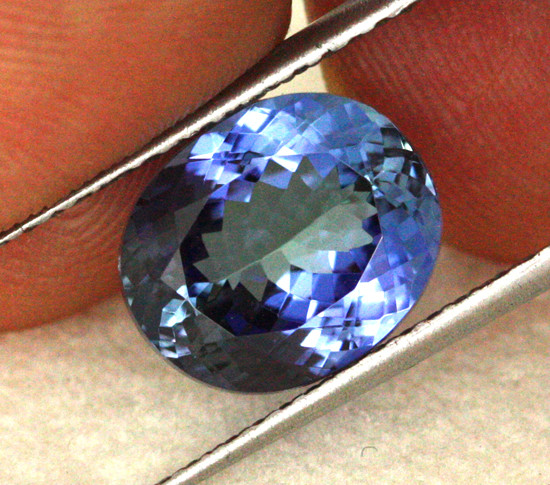 5.43 CTS VVS CERTIFIED TANZANITE STONE - EXCELLENT [ZST298]