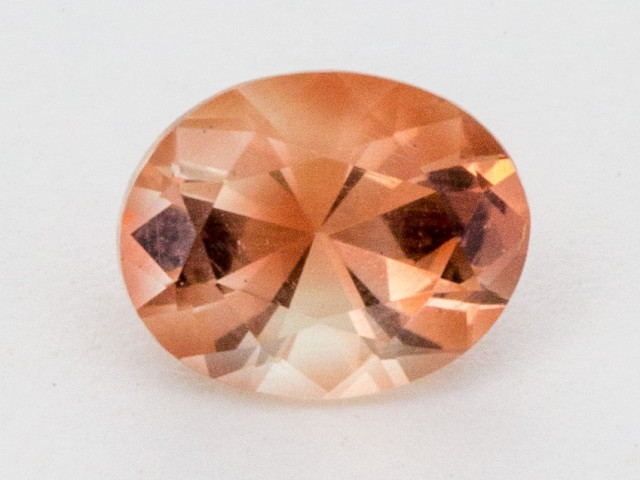 1.1ct Oregon Sunstone, Peach Oval (S750)