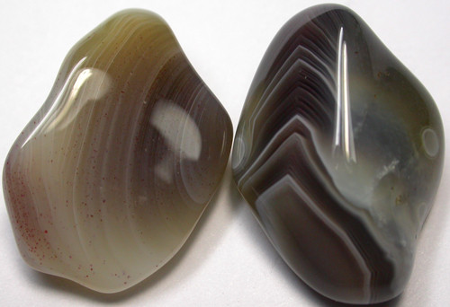 STRIPED BOTSWANA AGATE  40 CTS [MGW939 ]