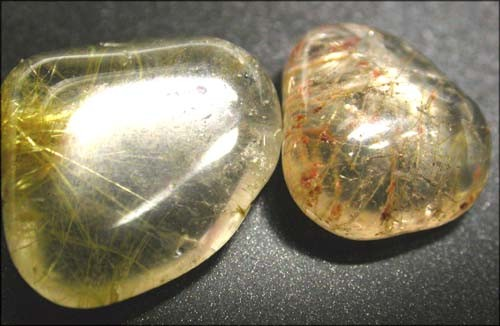 RUTILATED QUARTZ PARCEL - GOLDEN NEEDLES  40 CTS [MGW1127 ]