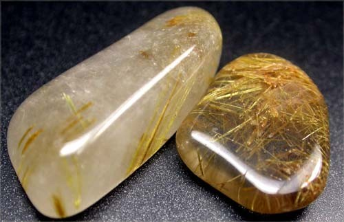 RUTILATED QUARTZ PARCEL - GOLDEN NEEDLES 30  CTS [MGW1195 ]