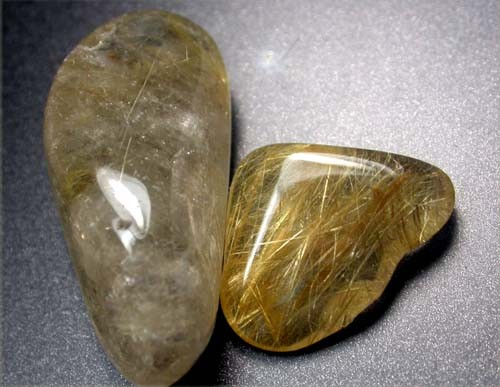 RUTILATED QUARTZ PARCEL - GOLDEN NEEDLES 80  CTS [MGW1246 ]