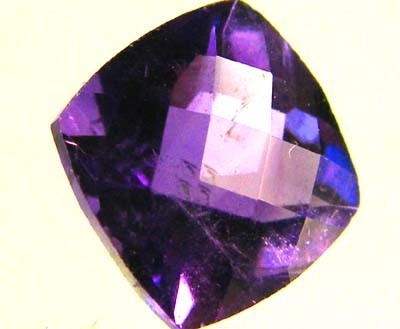 [SG]SI1 RICH COLOUR CHECKERBOARD  AMETHYST 2.30 CTS [S1059 ]
