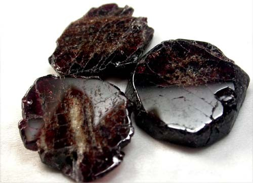 GARNET  SLICES FOR BEADS 73  CTS [MGW1357 ]