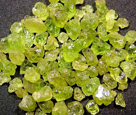PERIDOT ROUGH (PARCEL)  50 CTS FN 1739 (LO-GR)