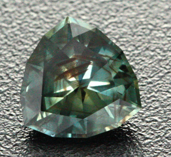 1.35 CTS SI CERTIFIED UNHEATED GREEN CEYLON SAPPHIRE [CDG21]