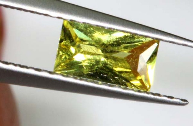 YELLOW SAPPHIRE UNHEATED CERTIFIED 0.47 CTS  TBM-622