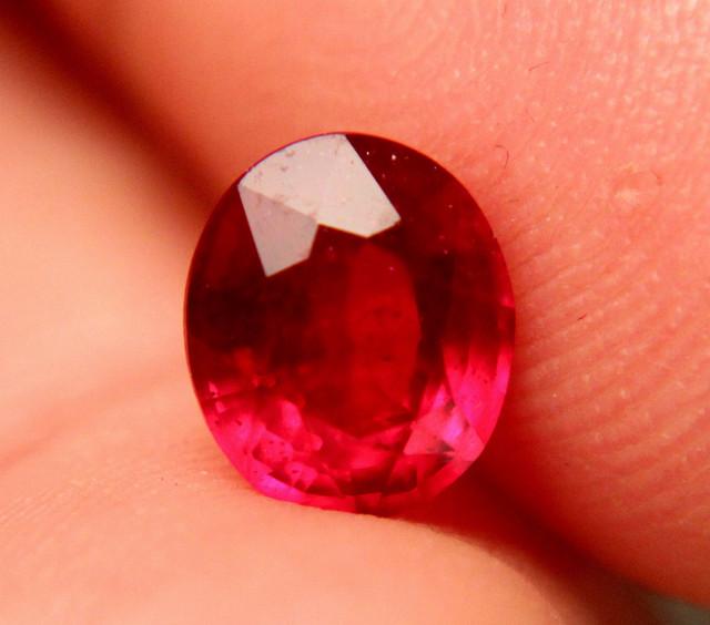2.35 Carat Fiery VS Cherry Ruby - Gorgeous