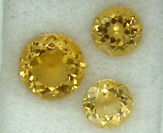 CITIRINE FACETED  PARCEL NATURAL 5.35 CTS   RNG-265