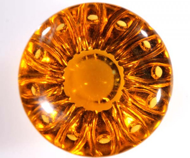 CARVED CITRINE   19.5   CTS   CG-1487