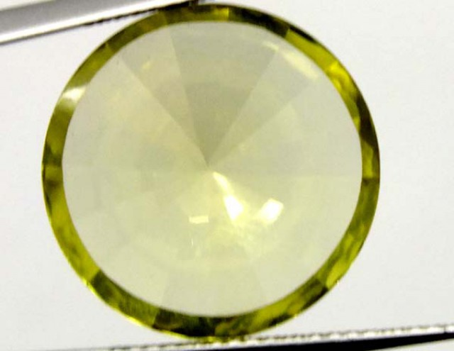 9  CTS GEMSTONE CARVED LEMON QUARTZ   CG-1517