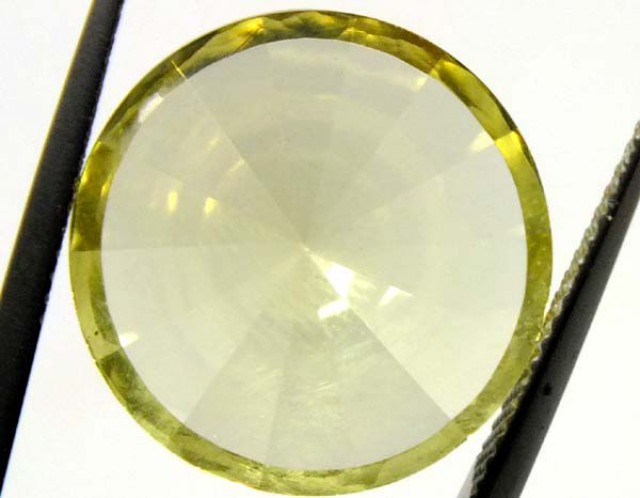 8.5 CTS GEMSTONE CARVED  LEMON QUARTZ   CG-1513