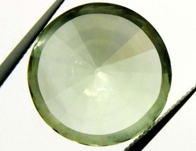 9.5 CTS GEMSTONE CARVED GREEN QUARTZ  CG-1519