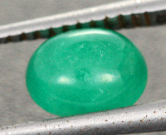0.90 CTS SI CERTIFIED COLUMBIAN EMERALD CAB [BRE53]