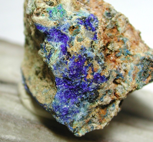 28.40g LINARITE MINERAL SPECIMEN FROM THRACE HELLAS