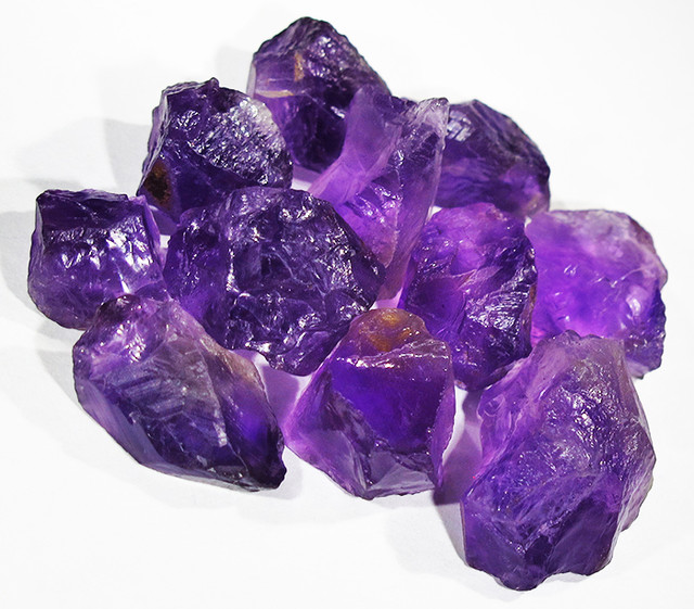 96.81 CTS AMETHYST  ROUGH  FROM NAMBIA   [F4236]