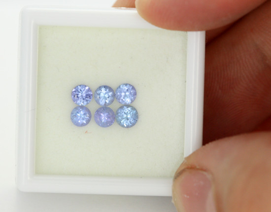 1.06 CTS VVS 3.5mm TANZANITE STONE - EXCELLENT CUT [TAN36]