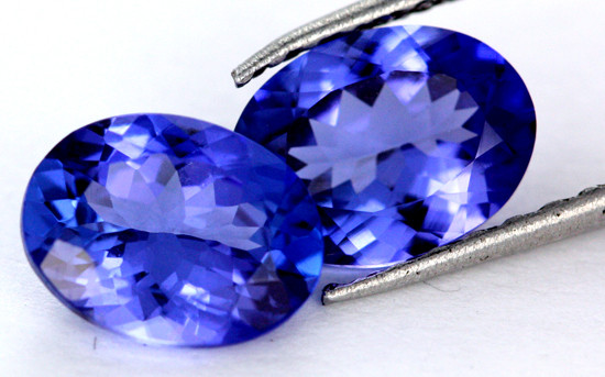 2.36CTS VVS CERTIFIED TANZANITE MATCHED PAIR [ZST321]