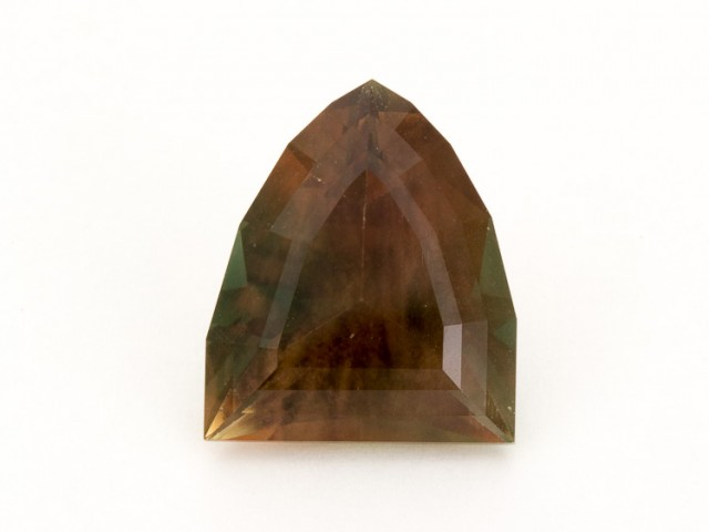 SALE WAS $6254 ~ 12.2ct Rootbeer Green Shield Oregon Sunstone,  (S653)