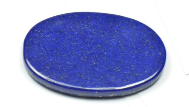 41mm oval Lapis Lazuli double sided cabochon 41 by 29 by 3.5