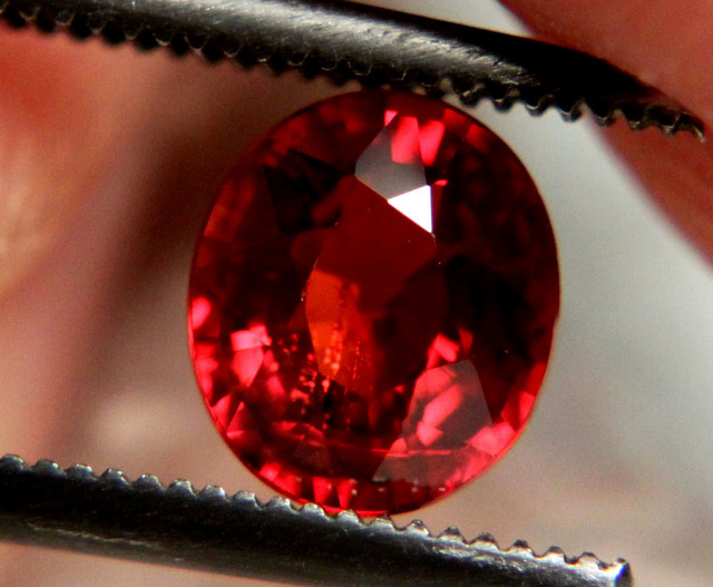 1.30 Carat Natural African Spessartite - Beautiful