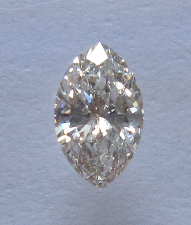 0.36ct, CERTIFIED NATURAL DIAMOND MARQUISE SHAPE, I/VVS2