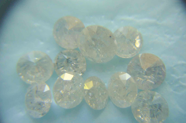 NATURAL WHITE DIAMONDS-2CTWLOT-7PTS-10PTS-NR,LOWESTDEAL