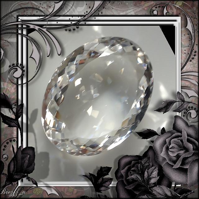 44.00ct Glamorous Silver White Quartz Master-cut gem