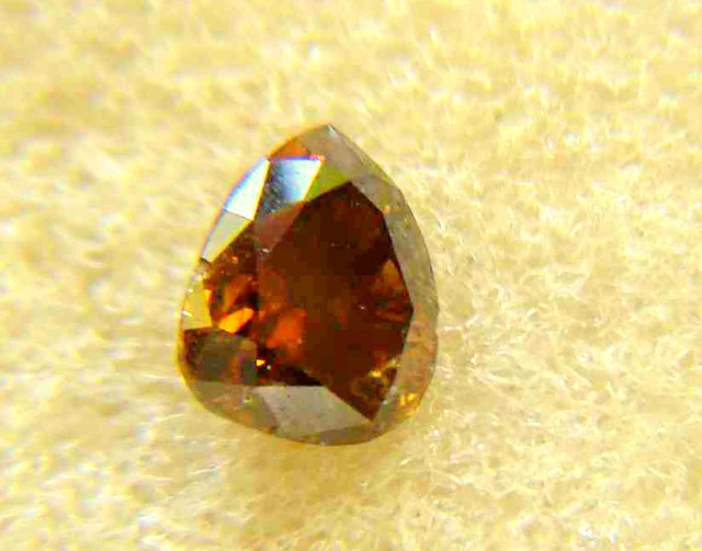 NATURAL-SOLITIARE-BROWN-RED DIAMOND , 1.10CTWSIZE-1PCS,NR