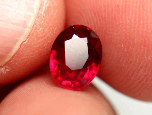 2.58 Carat Fiery Pigeon Blood Ruby - Gorgeous