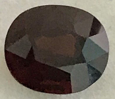 1.5ct CERTIFIED Untreated Red Spinel  VVS A106 F38