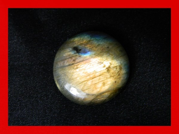 35cts 25mm Large Pendant Labradorite Stone Z184