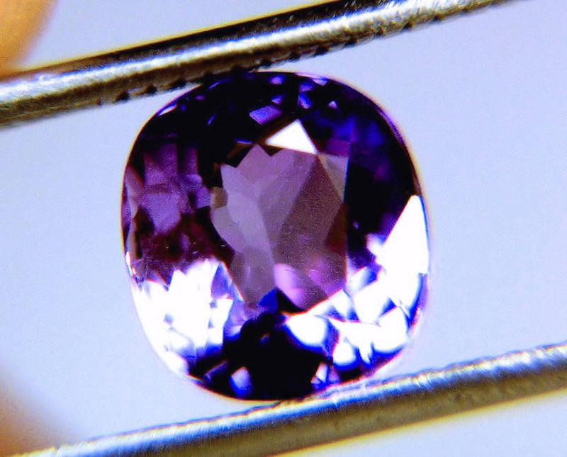 CERTIFIED - 3.14 Carat VVS/VS Purple Tanzanite
