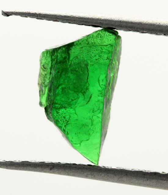 1.13 CTS TSAVORITE (GREEN GARNET) ROUGH CRYSTAL [MGW3523]
