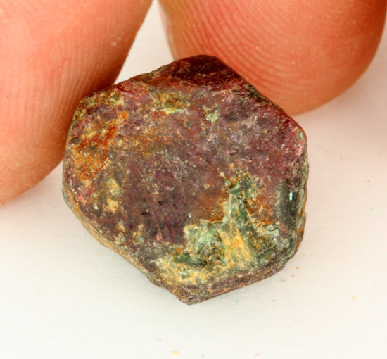 26.47 CTS RUBY  CRYSTAL FROM AFRICA [MGW3539]