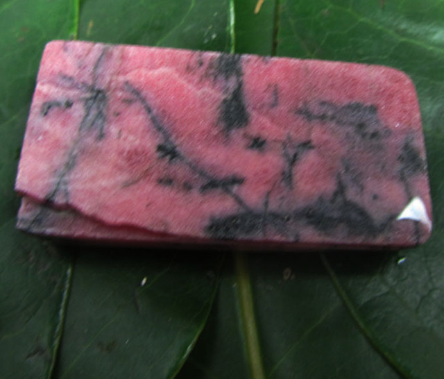 330 CTS AUSSIE SLABBED RHODONITE ROUGH MS 2049