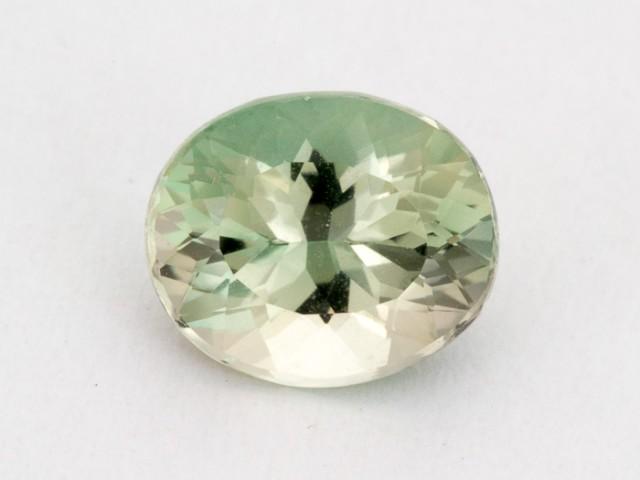 1.8ct Oregon Sunstone, Champagne/Green Oval (S1641)