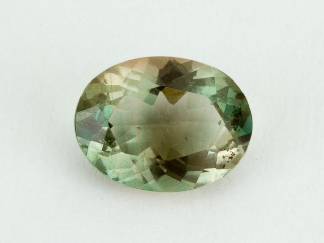 1.3ct Clear Green Oval Sunstone (S1549)