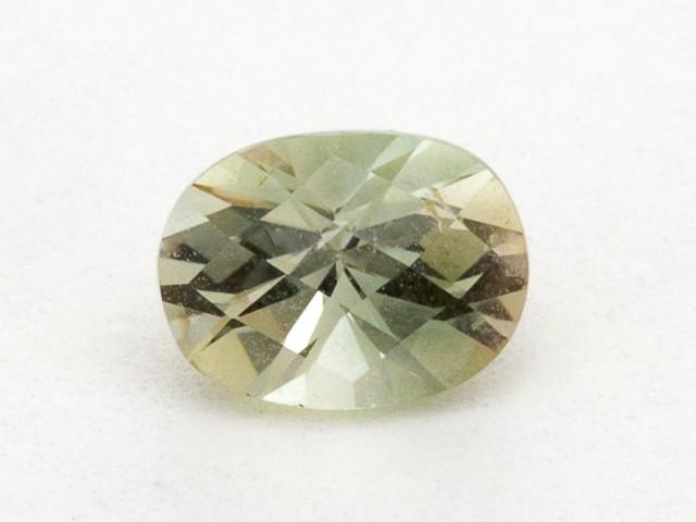 .8ct Oregon Sunstone, Clear/Green Oval (S1597)