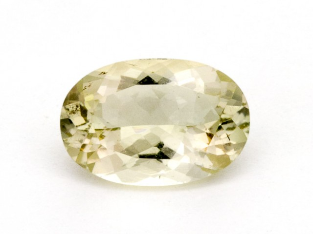 3ct Oregon Sunstone, Champagne/Clear Oval (S1317)