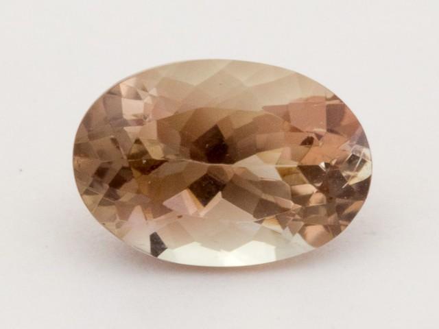2.3ct Oregon Sunstone, Champagne/Pink Oval (S1297)