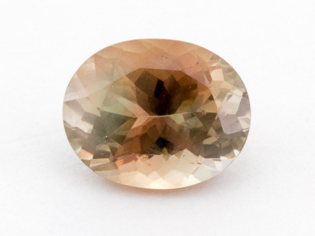 2.3ct Oregon Sunstone, Watermelon/Champagne Oval (S1266)