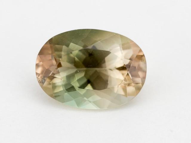 2.5ct Oregon Sunstone, Champagne/Green Oval (S1289)