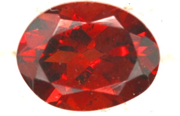 CERTIFIED MALAIA FACETED 1.35 GARNET  CTS  TBM 13