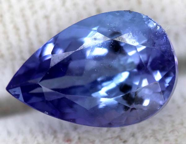 TANZANITE FACETED VIOLET BLUE 2.30  CTS RNG-9