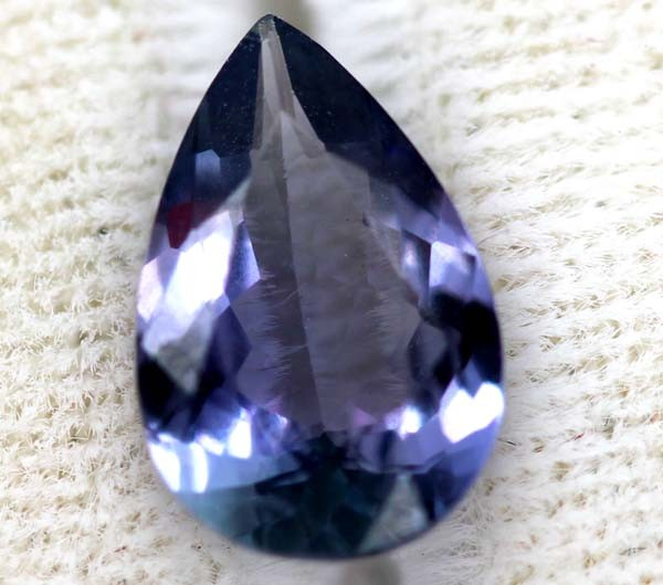 TANZANITE ZOISITE VIOLET BLUE 2.00  CTS RNG-21