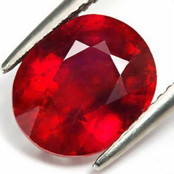 VERY NICE CERTIFIED RUBY 2,215 CTS