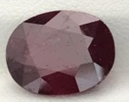 7.35ct Silky Luster Blood Red Oval African Ruby - B243 F71